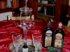 Absinthe Fountain and Glasses
