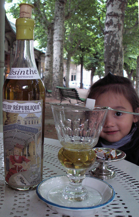 Absinthe from France