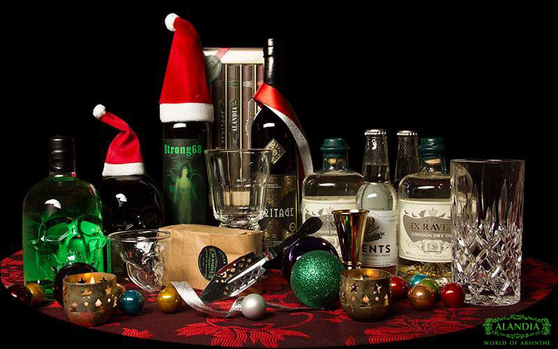 Absinthe as a gift for Christmas