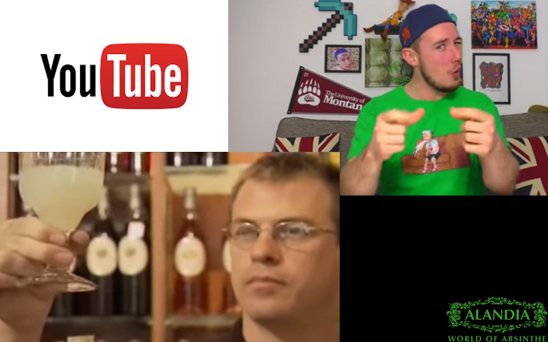 Absinthe on YouTube: Educative or just stupid!