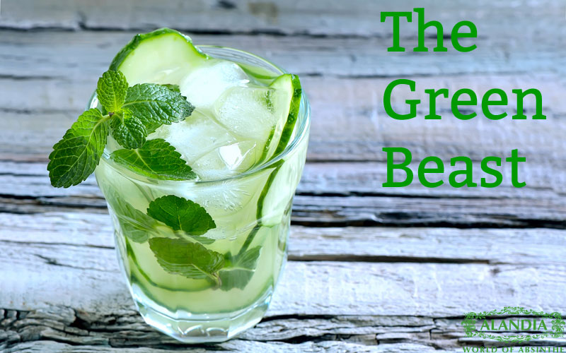Absinthe Cocktails: The Green Beast