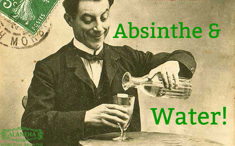 Absinthe and Water: That's what you need to know