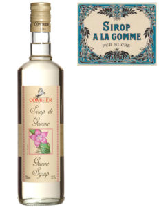 Sirop de Gomme and vintage label