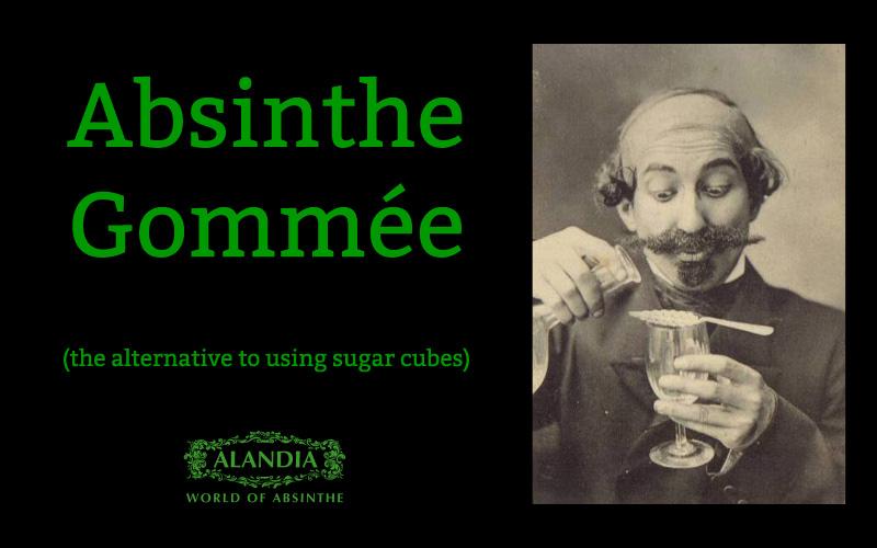 Absinthe Gommée: The forgotten Absinthe Ritual