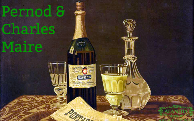 Pernod Absinthe: The painting of Charles Maire
