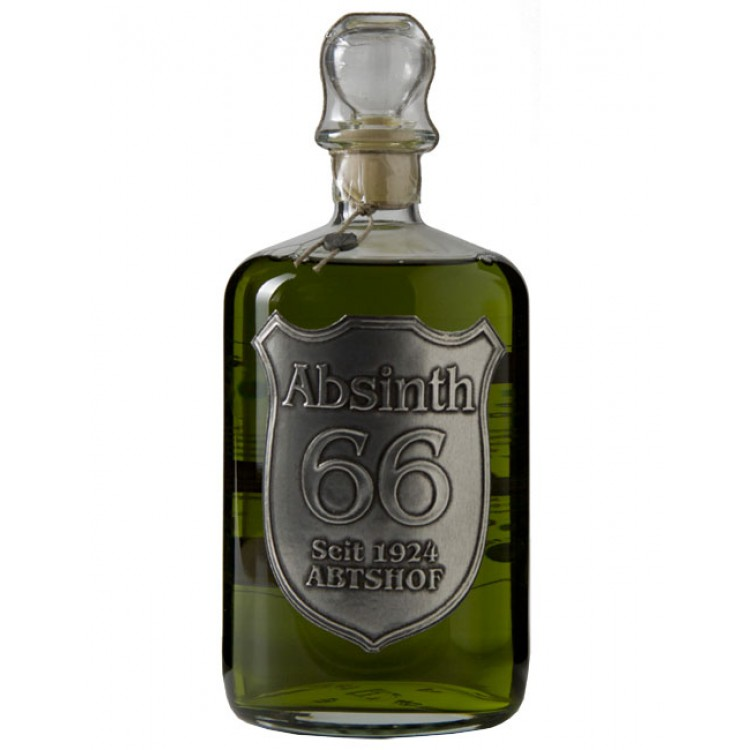 how to serve absinthe at home