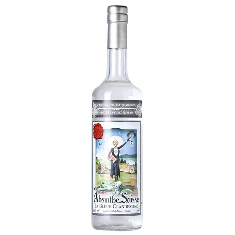 Absinthe La Bleue Clandestine Alcool de Vin